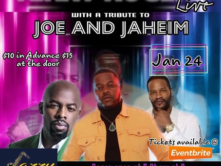 Terry Rodgers a Tribute to Joe & Jaheim.https://www.eventbrite.com/e/jazzy-159-presents-terry-rodge