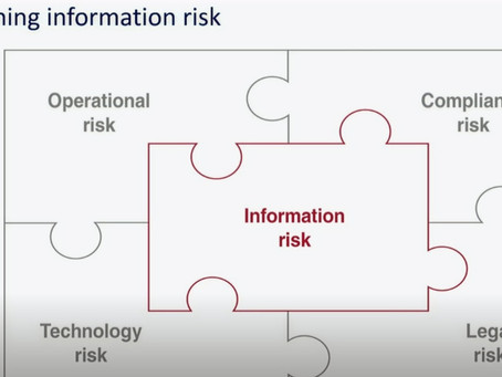 What is Information Risk?