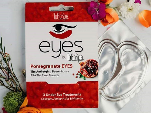 Pomegranate Eyes Mask