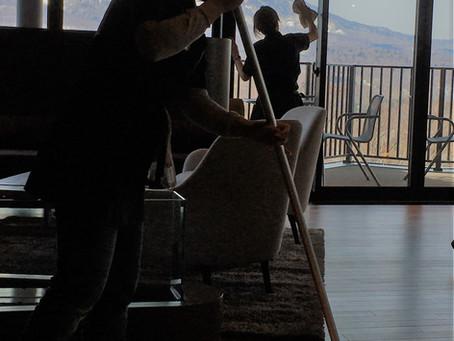 Working on the housekeeping+ team at Vacation Niseko