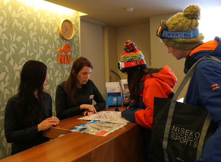 What is a front desk job at Vacation Niseko?