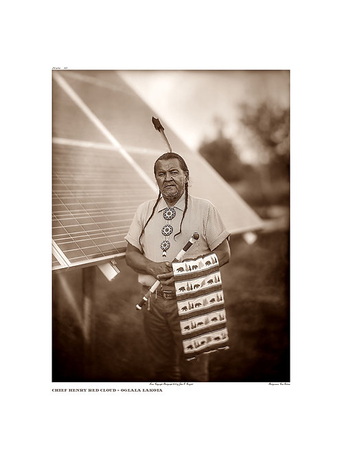 Chief Henry Red Cloud ~ Oglala Lakota