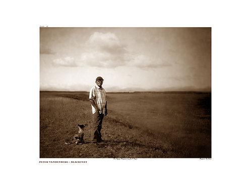 Peter VanDenBerg ~ Blackfeet