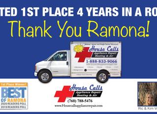"""Ramona """"Best Of"""" Contest 2020"""