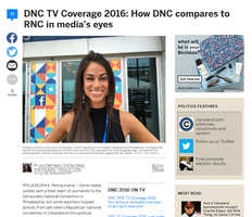 DNC TV Coverage 2016: How DNC compares to RNC in media's eyes
