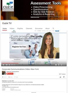 Kravitz participates in CuzieTV's 'Where Jobs Find You'