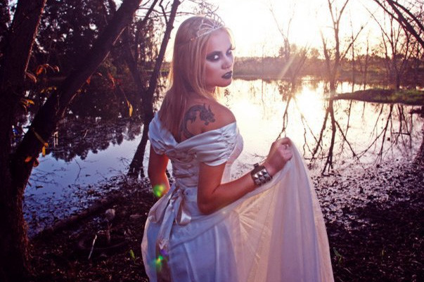 """Inside the """"confessions of a fashion bride"""" shoot"""