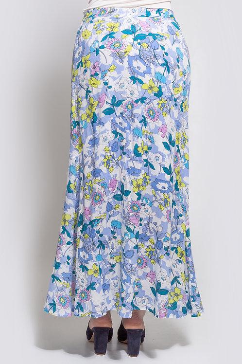 Saia Longa Floral - 5X R$18,06