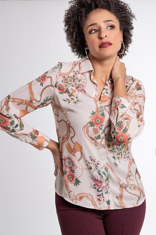 Camisa Floral - 5X R$18,06