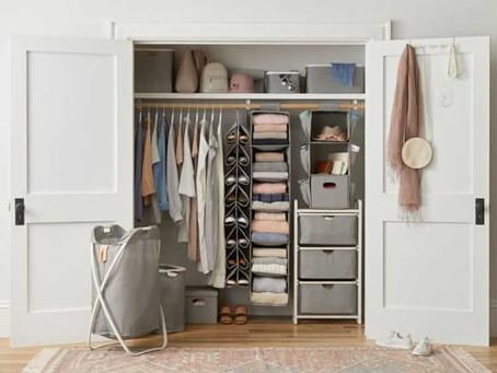 Bora organizar nossos armários?!!