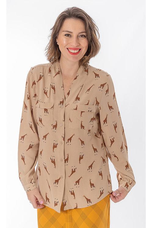 Camisa Girafinhas Bali - 5X R$16,66
