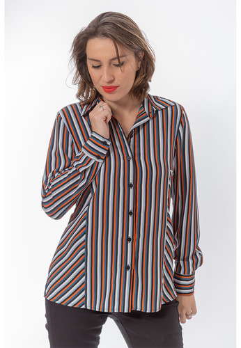 c4f9105f4a Camisa Marrocos Listras - 5X R 55