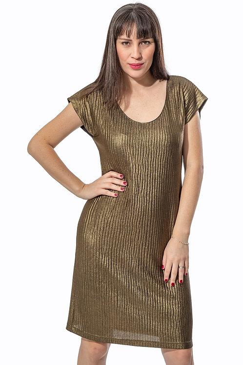 Vestido Plissê - 5X R$23,66