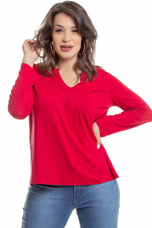 Blusa Pregas Visco - 5X R$31,80