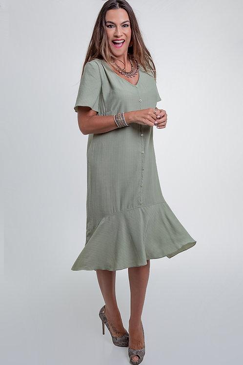 Vestido Rayon - 5X R$31,90
