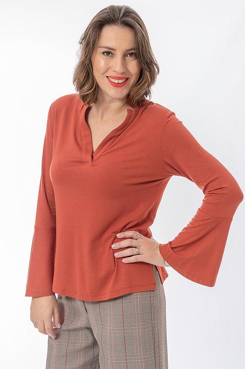 Blusa Colarinho Visco - 5X R$15,90