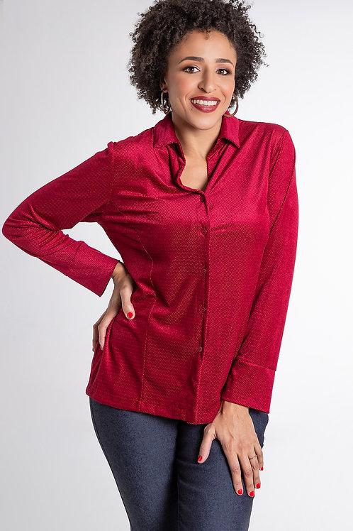 Camisa Veludo - 5X R$15,26