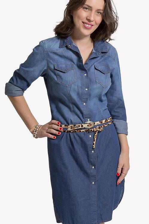 Chemise Jeans - 5X R$27,86