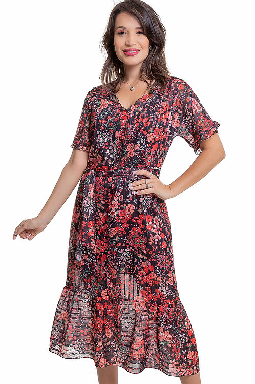 Vestido Chiffon Liberty  - 5X R$77,80