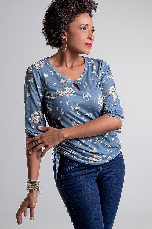 Blusa Floral Colisse - 5X R$16,90