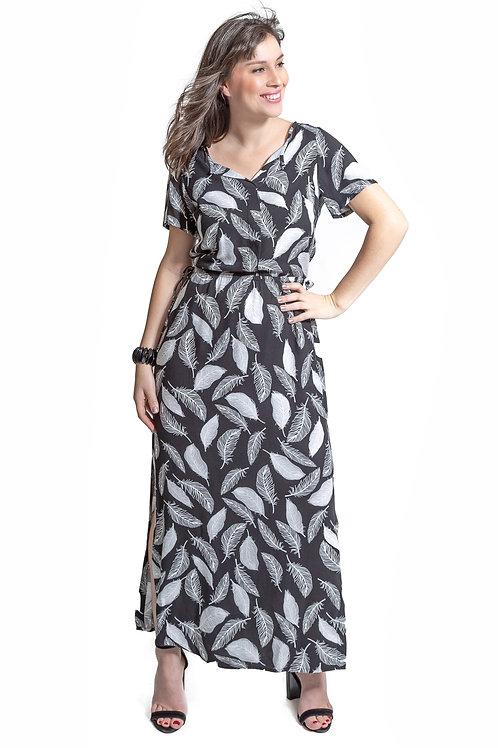 Vestido Penas - 5X R$20,86