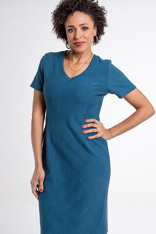 Vestido Jacquard City - 5X R$28,72