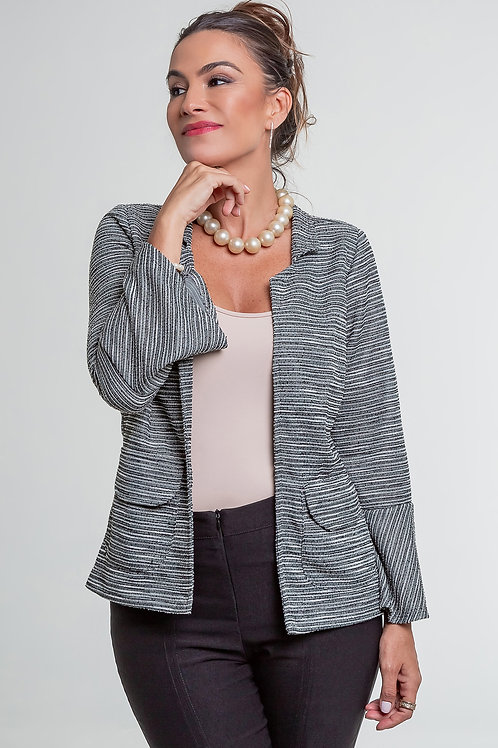 Jaqueta Tweed 5X R$18,32