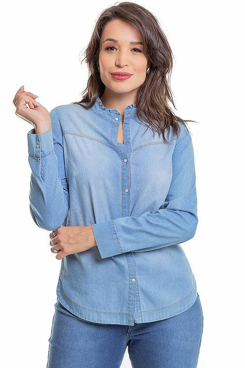 Camisa Lya Jeans - 5X R$49,80