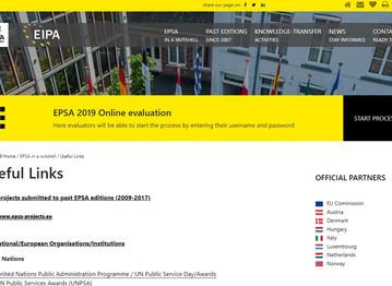 PoliVisu awarded European Public Service Best Practice Certificate