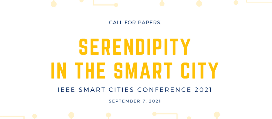 Call for Papers – First Workshop on Serendipity in the Smart City (September 7, 2021)