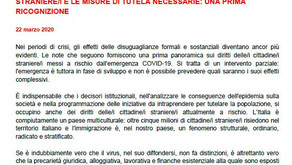 The Association for Juridical Studies on Immigration (ASGI) document breaks the silence around migra
