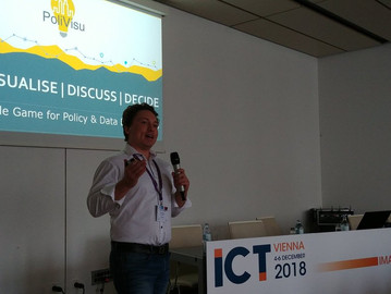 PoliVisu Role Game at ICT Vienna