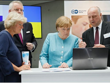 PoliVisu partner's media platform commended by German Chancellor
