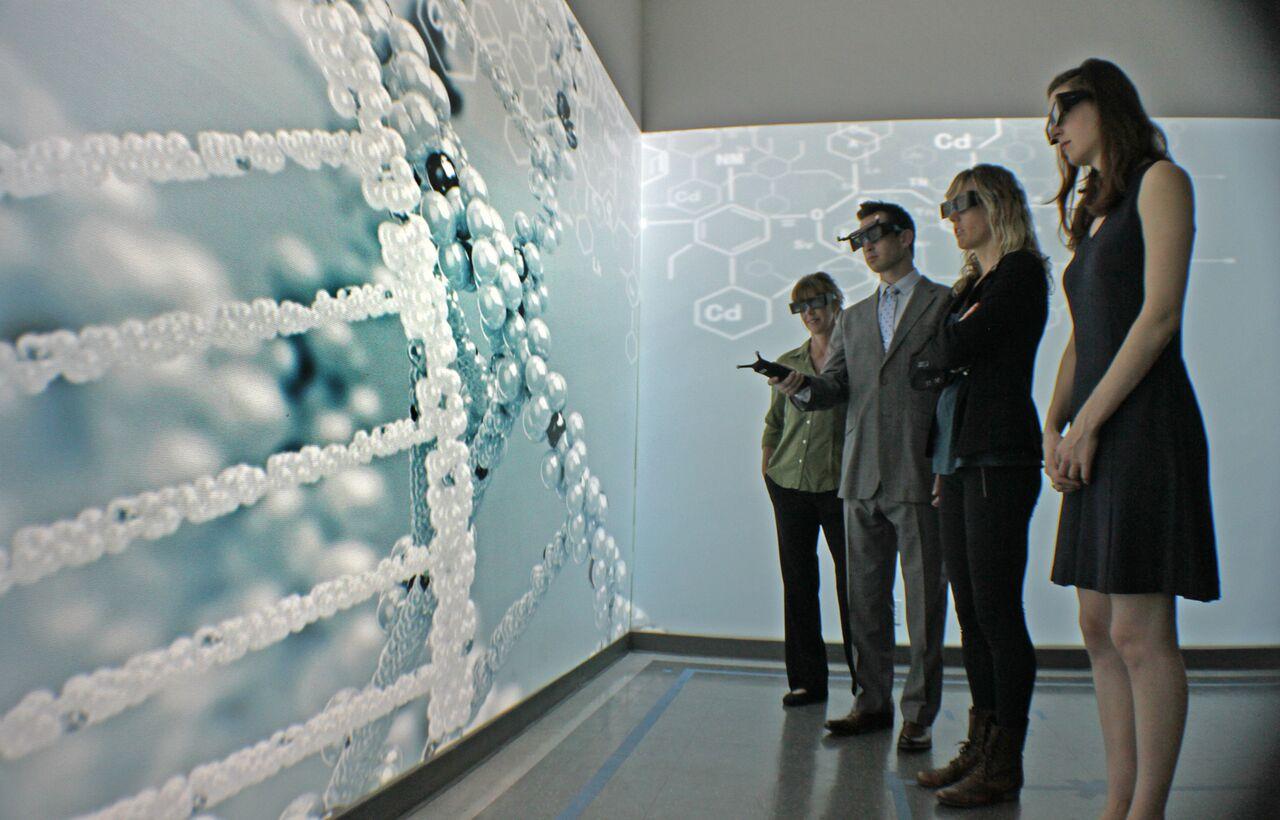 沉浸式虚拟实境系统