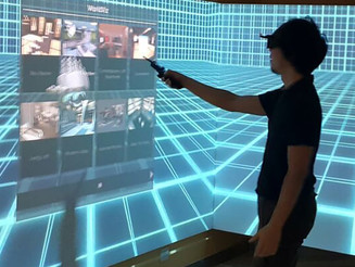 Worldviz Vizard VR System @Hong Kong Polytechnic University