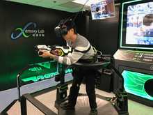 The First Set in Hong Kong - Virtuix Omni VR Game System