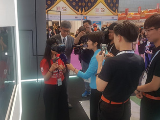 VR Experiences in Harbin HKTDC Pavilion at China-Russia Expo