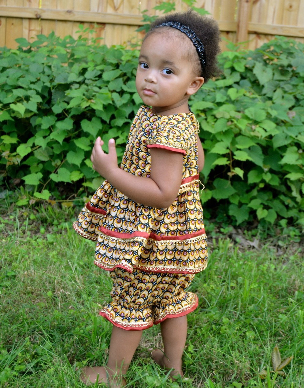 2 Piece Jumper with Bloomers