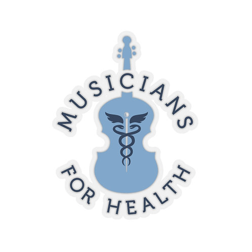 Musicians for Health Stickers!