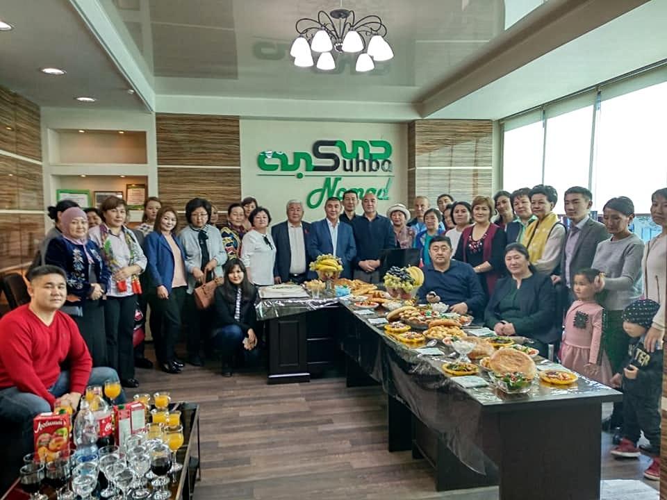 opening office Sukhba-Nomad Bishkek