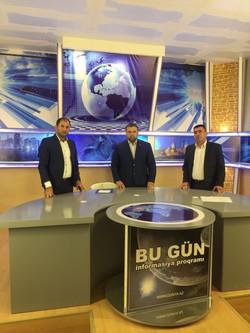 На телевидении в Баку