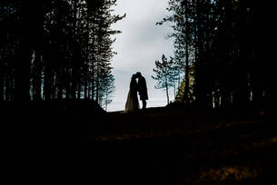 roseisle wedding silhouette