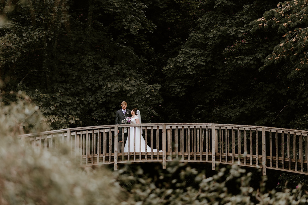 wedding photos at historic cullen house in moray, highlands