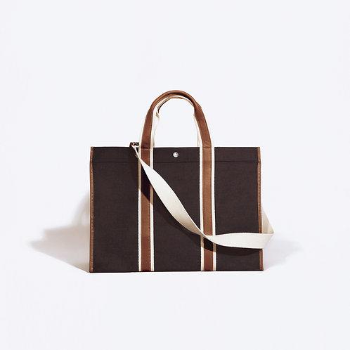 TRAVELLER L - Brown Linen