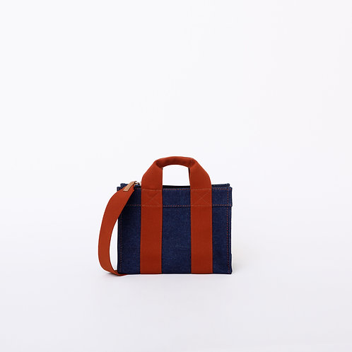LADY TOTE - Denim