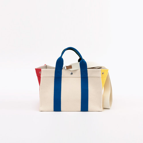 MINI TOTE - White Lego