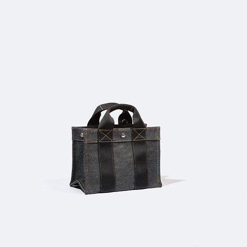TOTE S - Black Denim