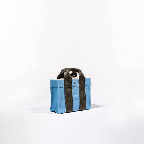 TOTE XS - Pale Blue Flannel