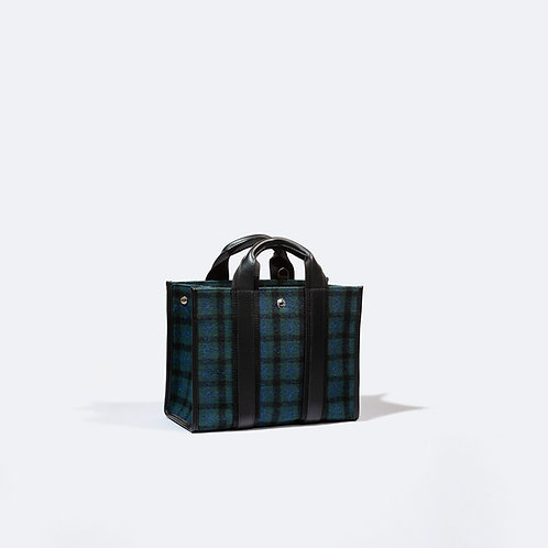 UPPER EAST S - Blue Plaid Flannel