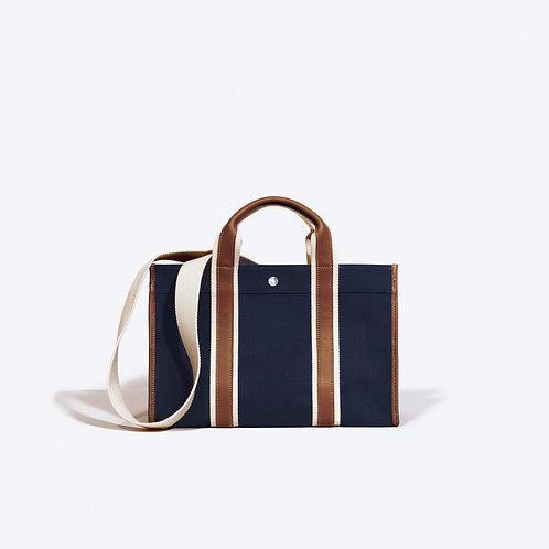 TRAVELLER M - Navy Linen